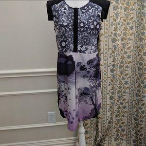 Trouve Dress Women's Size XS Black Sheath Midi